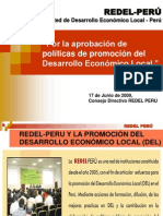 Exp de REDEL PERU en Congreso