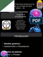 presentacion Farmaco acetaminofen