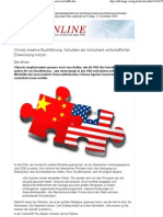 Chinas kreative Buchführung