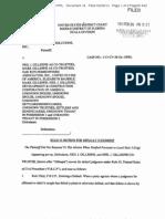 Doc 16. Gillespie Rule 55 Default Motion, 02-26-13