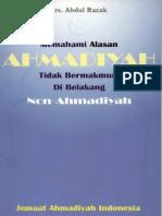 Mengapa Tidak Bermakmum Di Belakang Non-Ahmadi-drs Abdul Razak