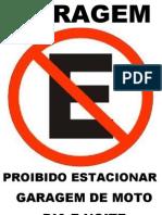 PRIBIDO ESTACIONAR