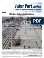 CT Deep water port notes July 2013