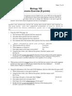 Genomics Worksheet 1