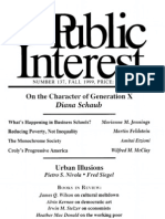 782a4ce5b331 The Public Interest Number 137 Fall 1999