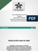 Resolucion 2646 de 2008 Factores de Riesgos Psc 2013 Copia