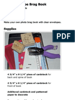 Clear Envelope Brag Book