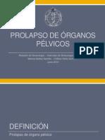 Prolapso Organo Pelvico