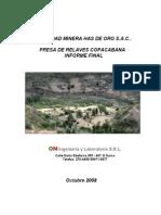 Informe Técnico Coapacabana