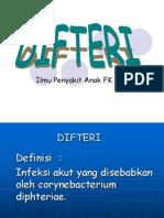 Difteri
