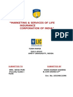 Marketing Strategy of Life Insurance Corporation of India