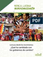 America Latina en Movimiento Lecturas Desde Los Movimientos