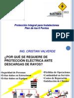 4.-Proteccion Contra Descargas Atmosfericas-Ing. Cristian Valverde