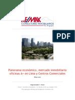 Informe de Situacion Del Mercado Inmobiliario de Oficinas en Lima - Remax Consultores