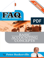 FAQ Basic Accounting Concepts