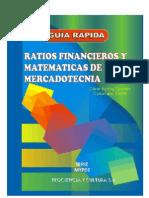 Ratios Financieros y Matematicas de La Mercadotecnia - Cesar Aching Guzman