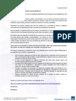 AXA Retira campaña de publicidad de responsabilidad civil (comunicado)