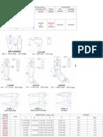 Escarificadores Ripers plano construcción