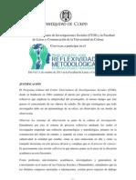 Encuentro Ciencias Sociales Universidad de Colima 2013