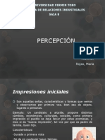 Percepcion Trabajo