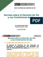 02 Normas  Derecho de Vía y su Condición de Uso Ing_ H_ Garr.pdf