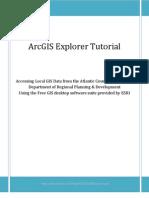 ArcGis Explorer Tutorial