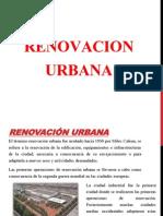 Renovacion Urbana