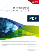 Support Procedures for LAR PSE 2013