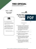 Registro Oficial Distritos y Circuitos