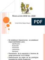 Resolución 2646 del 2008