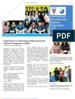 Taylor's IBDP Newsletter (March '13 Issue)