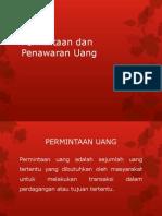 Permintaan dan Penawaran Uang.pptx