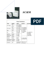 AC&M Power Transducers
