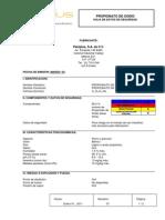 Ficha de Seguridad Propionato de Sodio