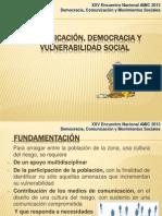 COMUNICACIÓN y DEMOCRACIA SCRB