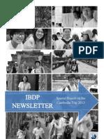 Taylor's IBDP Newsletter (June '13 Issue)