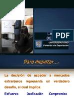 7.1 LA DECISIÓN DE EXPORTAR