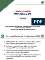 RAMBU-RAMBU PENYUSUNAN RPP KURIKULUM 2013