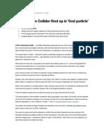 God Particle Article
