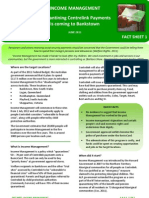 Income Management - Bankstown Fact Sheet June 2011
