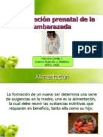 Alimentacion Prenatal