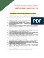 Cartilla Historia Del Petroleo y Fundamentos Del Petroleo