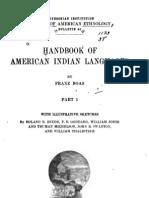 BOAS,Franz_Handbook of American Indian Languages