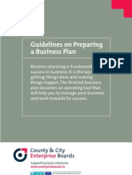 Preparation is key when it comes to business planning and success