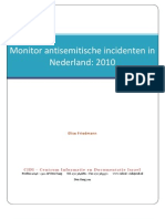 Monitor Antisemitisme 2010