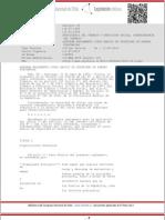 DTO 49 (1999) APRUEBA REGLAMENTO SCURSO BÁSICO DE SEGURIDAD DE FAENAS PORTUARIAS