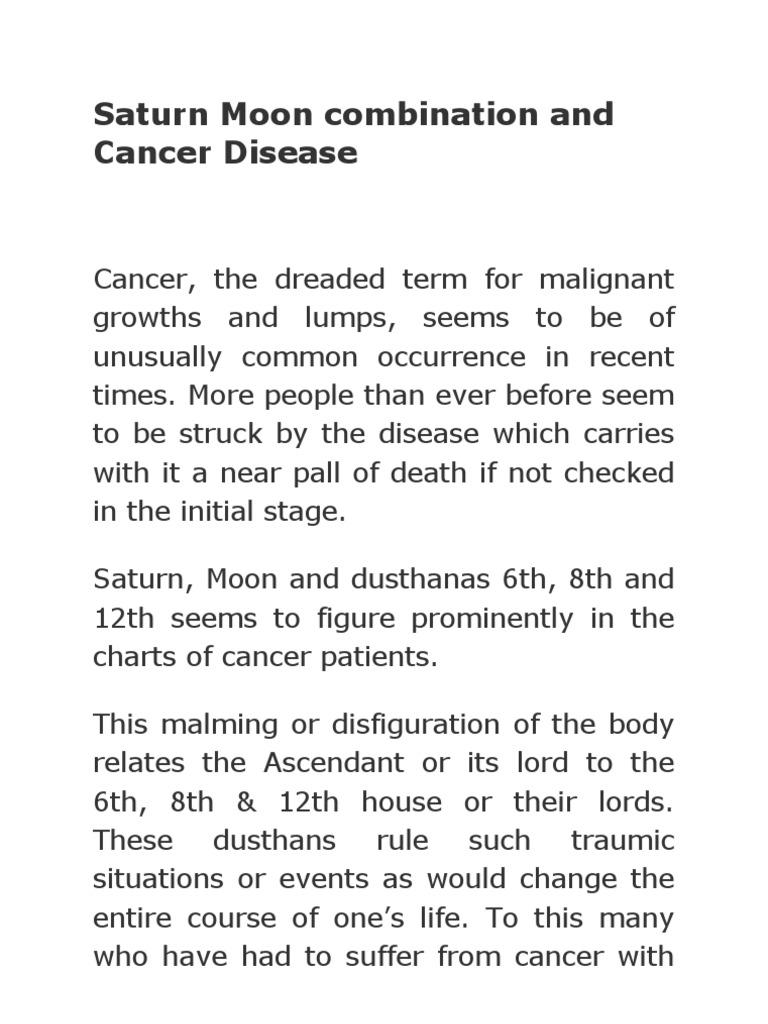 Cancer Disease | Cancer | Astrology