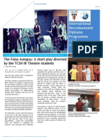 Taylor's IBDP Newsletter (July '13 Issue)