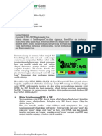Belajar HTMLPHP Dan MySQL