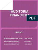 Diapositivas de Auditoria Financiera